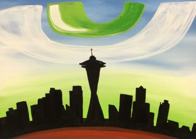Seattle Skyline Hawks Eye