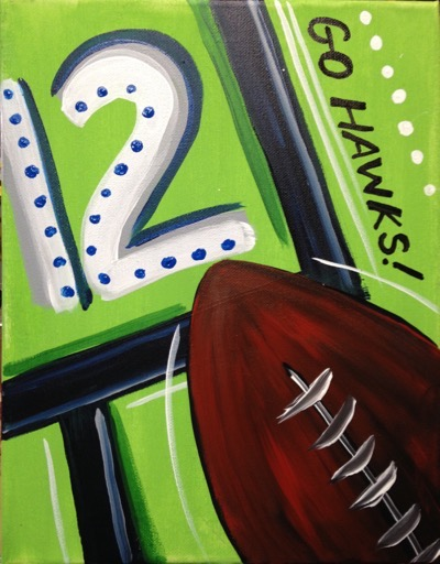 Seahawks 12 Football