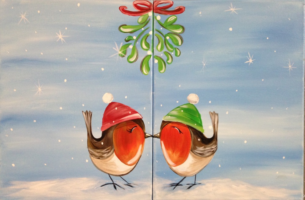 Mistletoe Birds