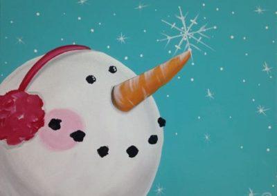 Earmuffs Snowman