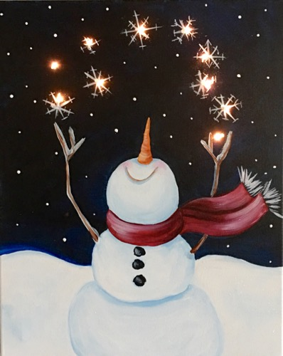 Light Up Snowman