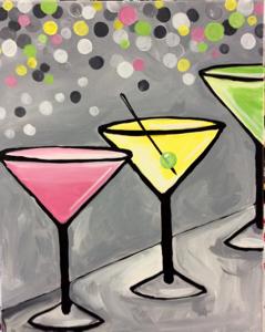 Glitter Martini Party
