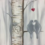Birch Tree Birds