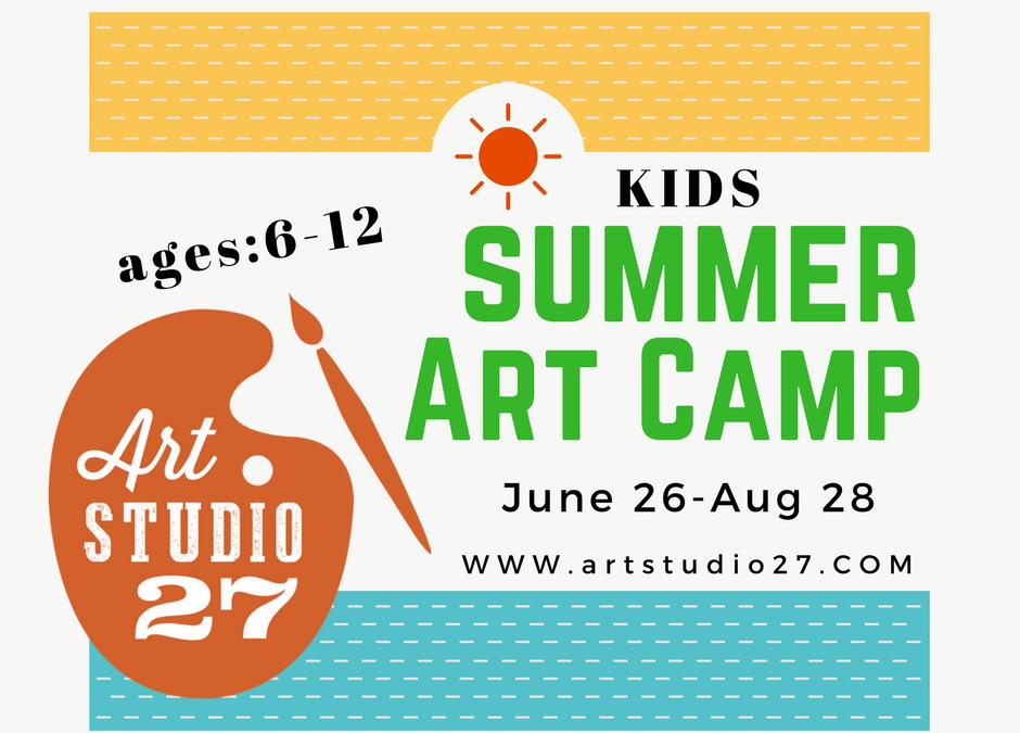Summer Kids Art Camp