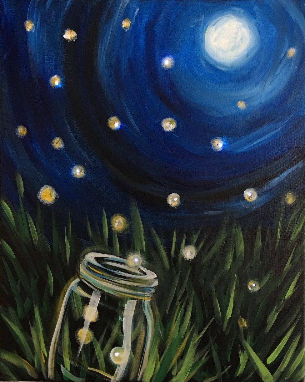 Fireflies with Lights