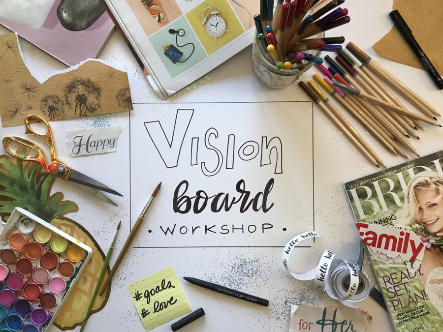 Image result for vision board workshop