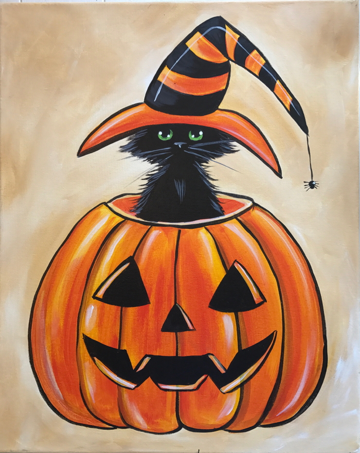 halloweeen kitty