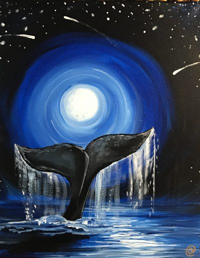 Moolight Whale